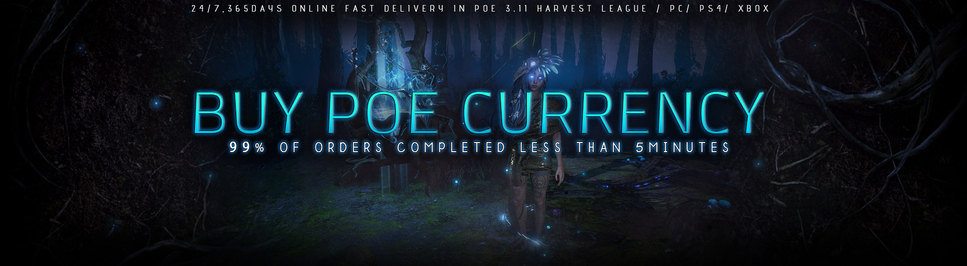 Buy Cheap PoE Currency in 3.11 Harvest